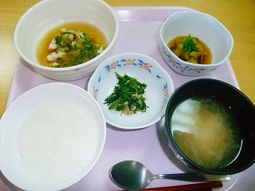 お祖母ちゃんの夕飯