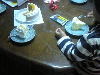 ケーキいただきます