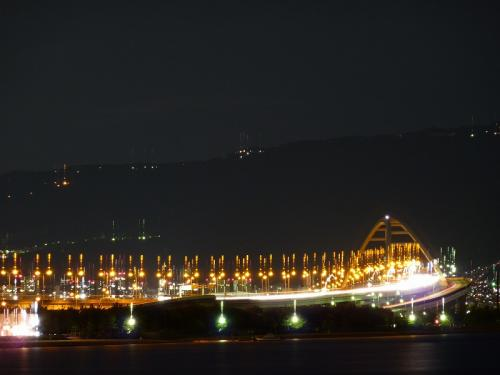 夜の鳴尾浜 (2)
