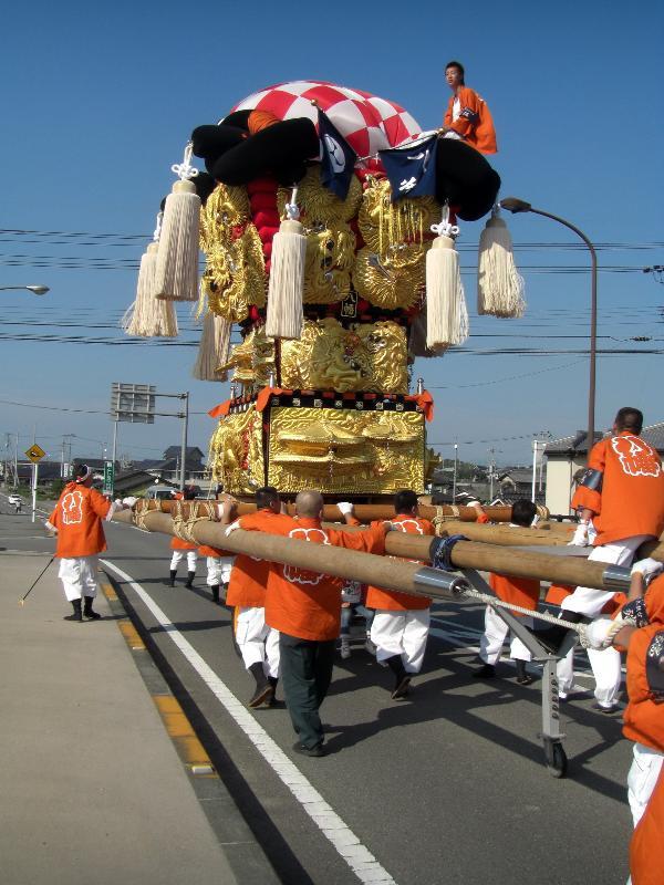 西条市 飯積神社祭礼 八幡太鼓台
