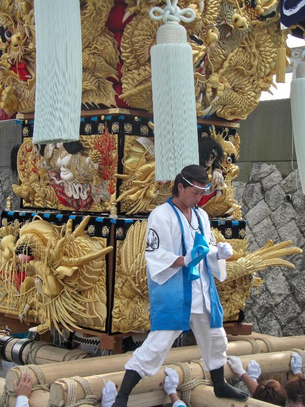 西条祭り 飯積神社 渦井川かきくらべ 飯岡本郷太鼓台