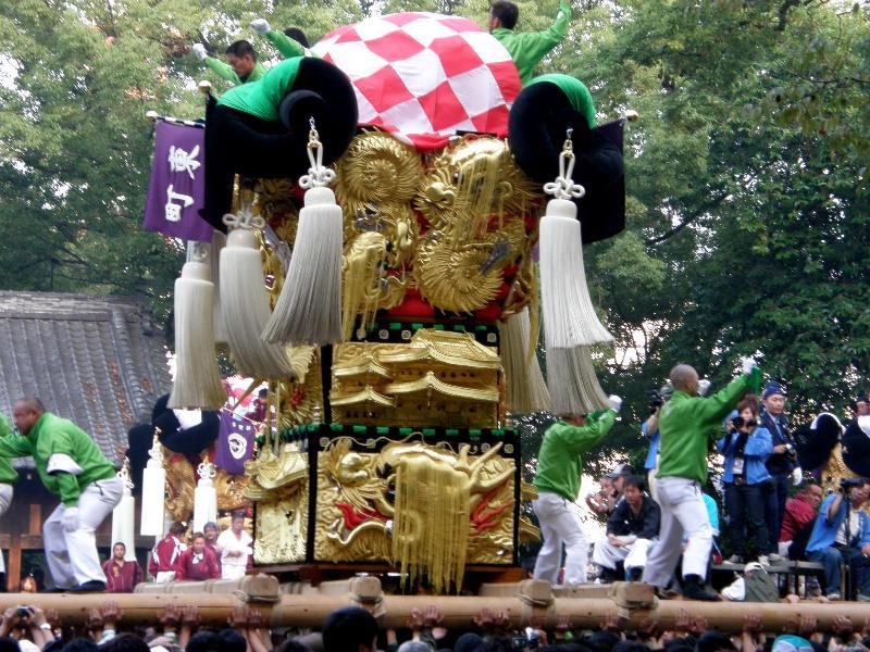 新居浜太鼓祭り2008年 一宮神社 東町太鼓台