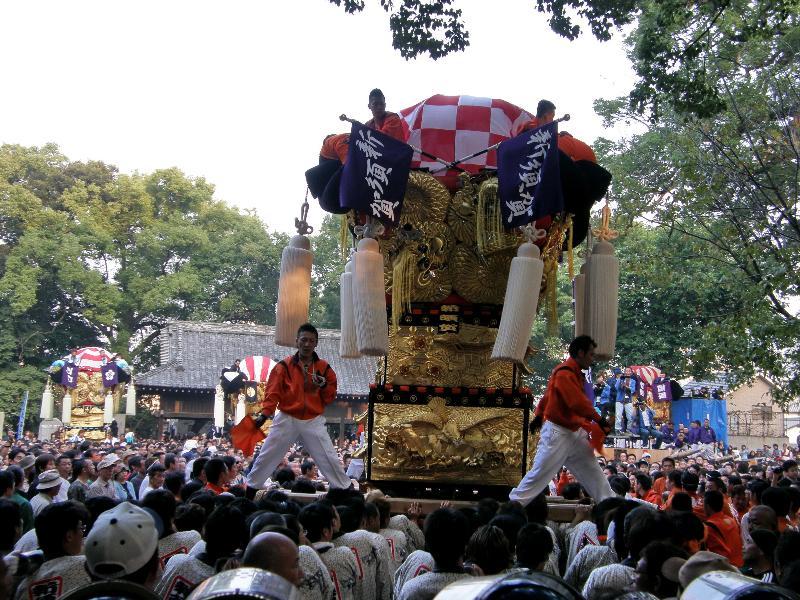 新居浜太鼓祭り2008年 一宮神社 新須賀太鼓台