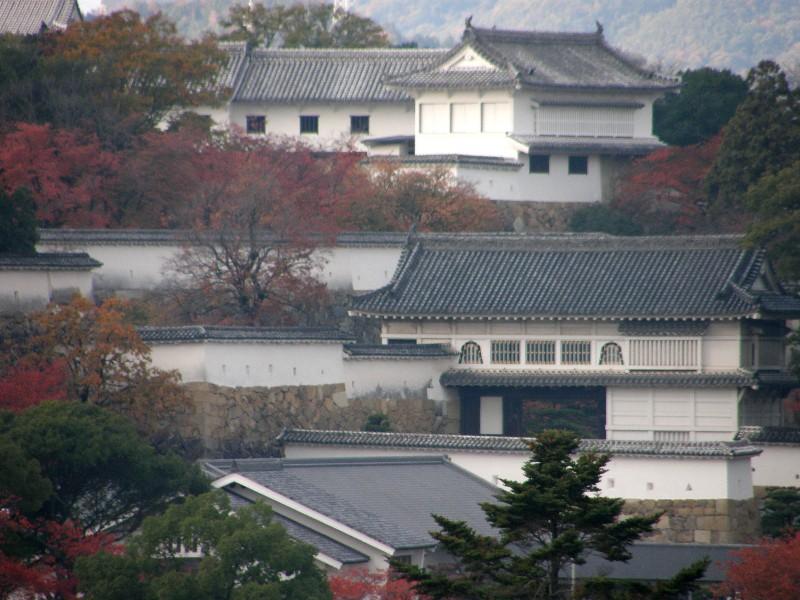 姫路城写真 イーグレ5階から