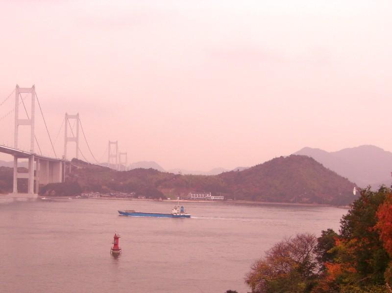 今治市 来島海峡 来島海峡大橋