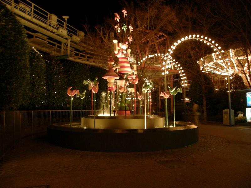 倉敷チボリ公園 イルミネーション