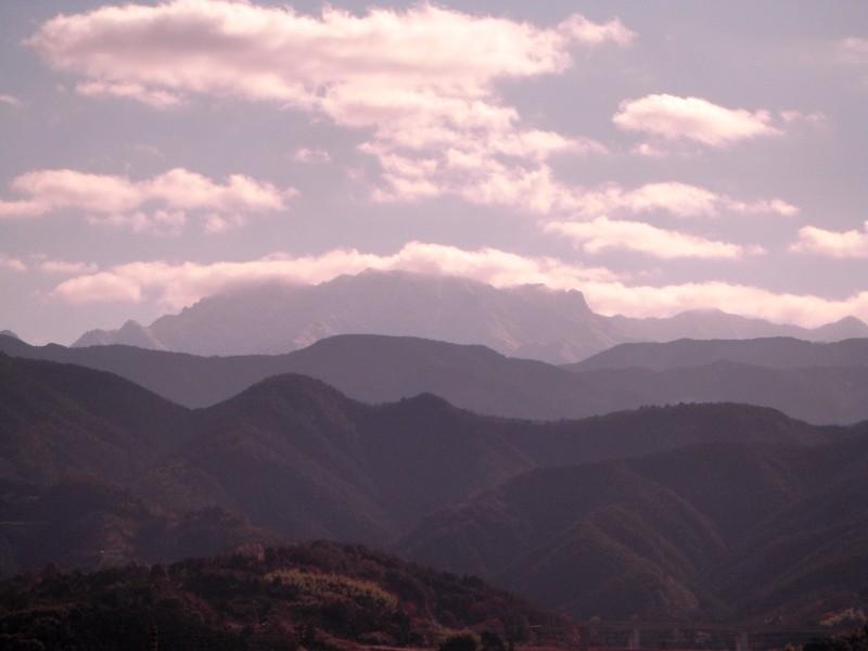 石鎚山 風景