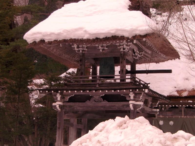 白川郷 雪景色