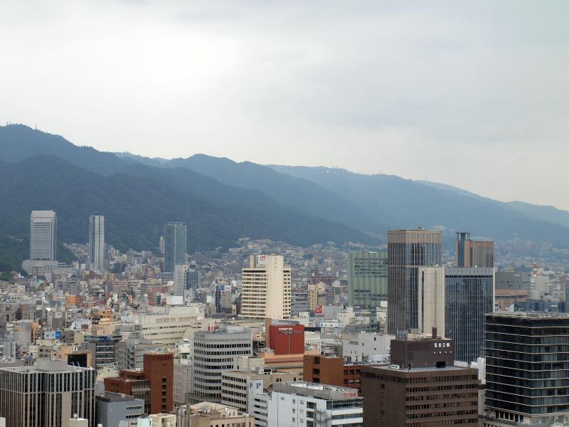 神戸 観光 港 メリケンパーク ポートタワーからの眺め