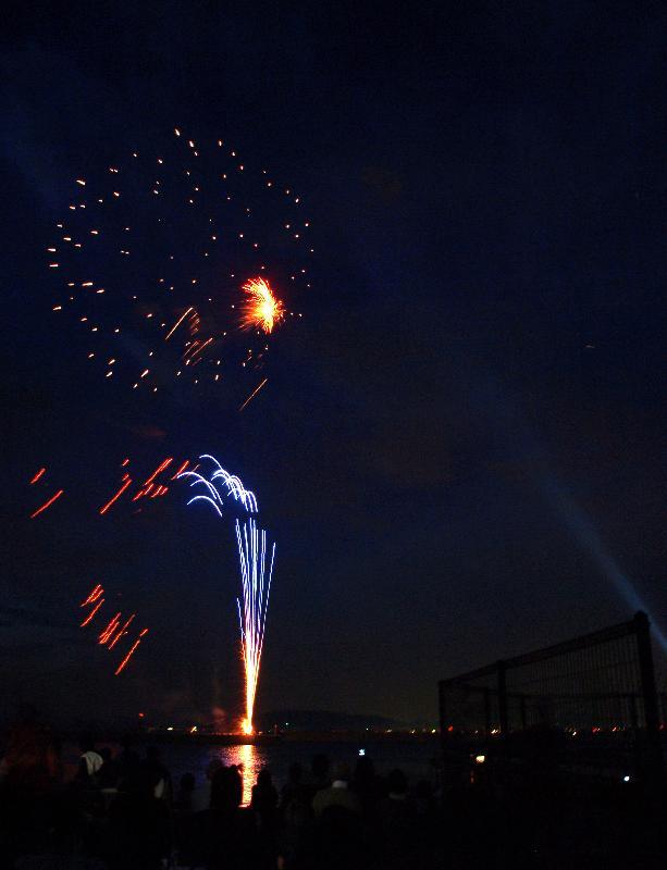 かわのえ 夏祭り 川之江港 花火大会
