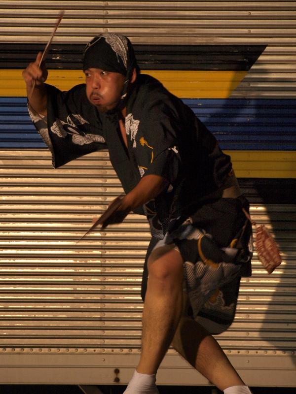四国中央市 いよみしま みなと祭  池田阿波踊り