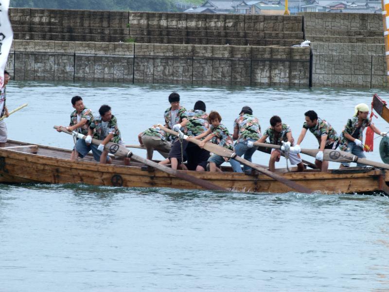 宮窪 水軍レース 1回戦