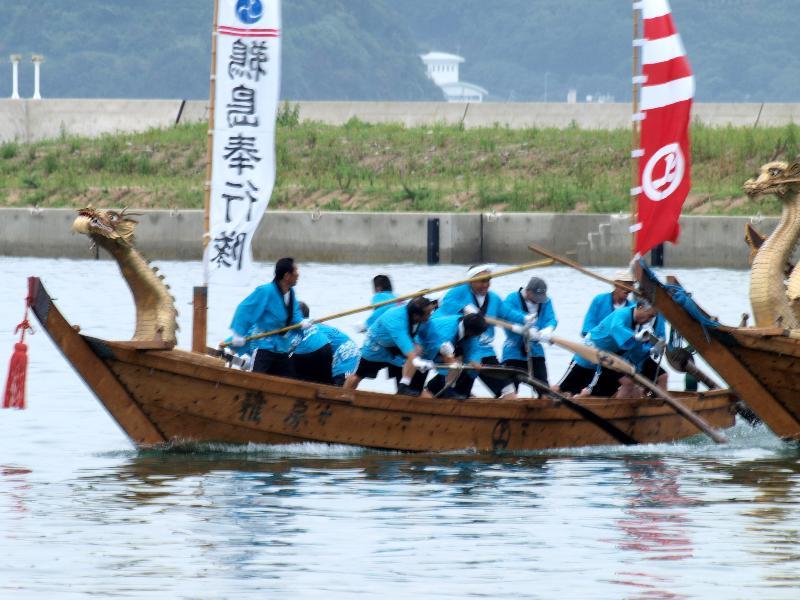 宮窪 水軍レース 決勝戦