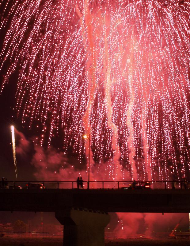 新居浜市 にいはま納涼花火大会 2009年