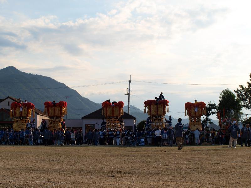 さぬき豊浜ちょうさ祭 ちょうさパレード