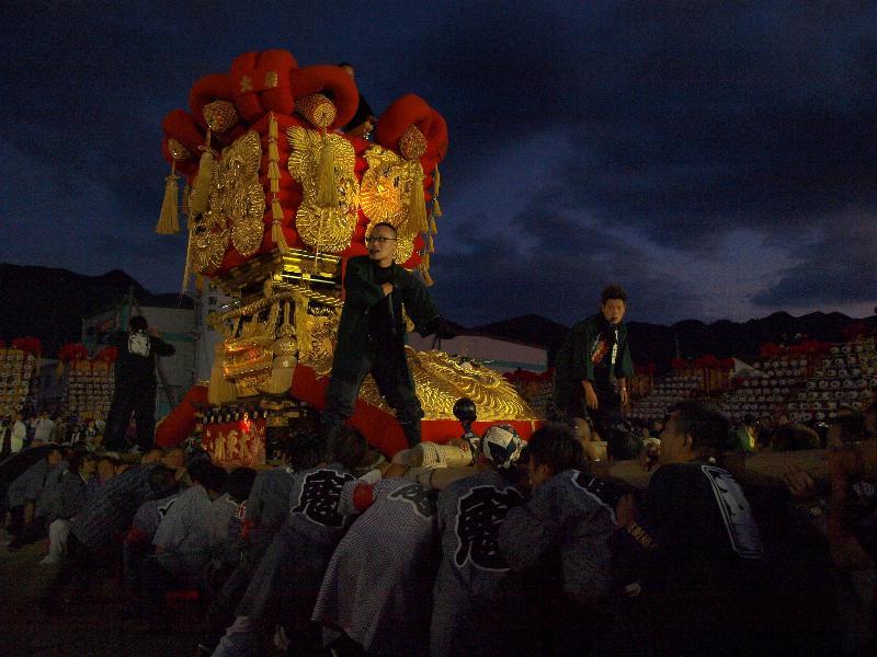 さぬき豊浜ちょうさ祭 和田お祭広場イベント「担きじょう」