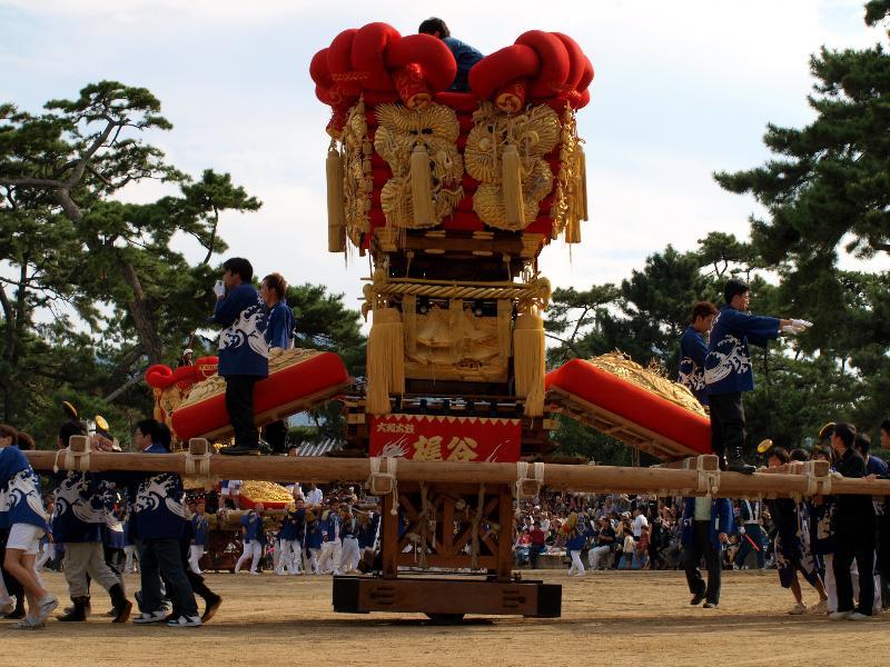 さぬき豊浜ちょうさ祭り  一宮神社