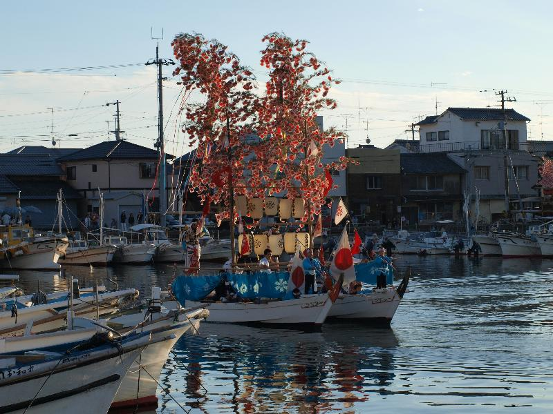 北条秋祭り 海上渡御