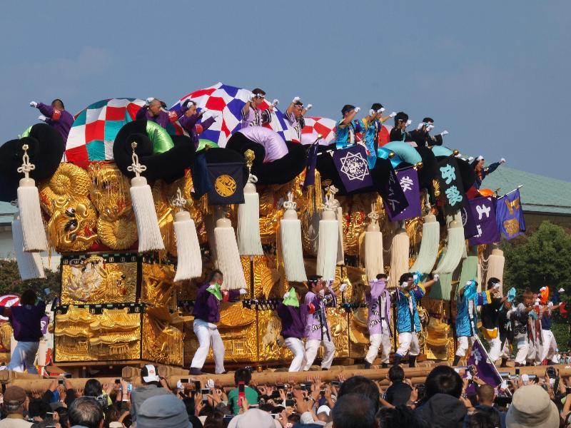 にいはま太鼓祭り 山根グラウンド 中萩地区
