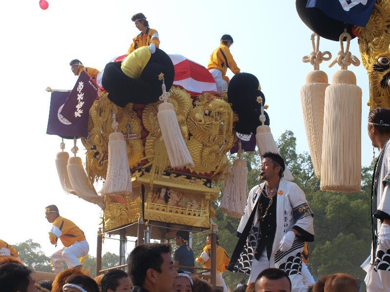にいはま太鼓祭り 山根グラウンド 松木坂井太鼓台