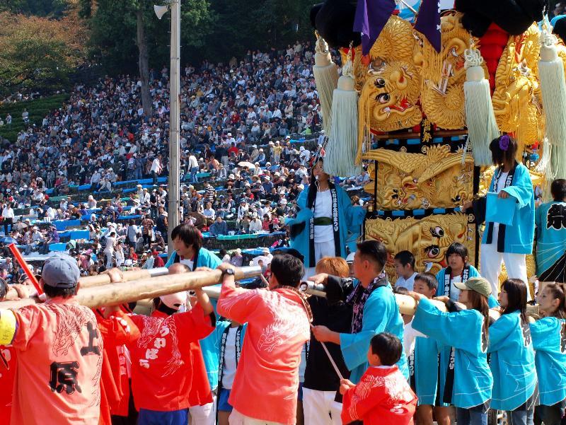 新居浜太鼓祭り 山根グラウンド 瀬戸寿子供太鼓台