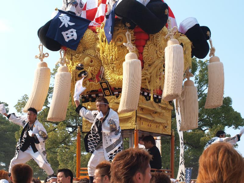 にいはま太鼓祭り 山根グラウンド 東田太鼓台