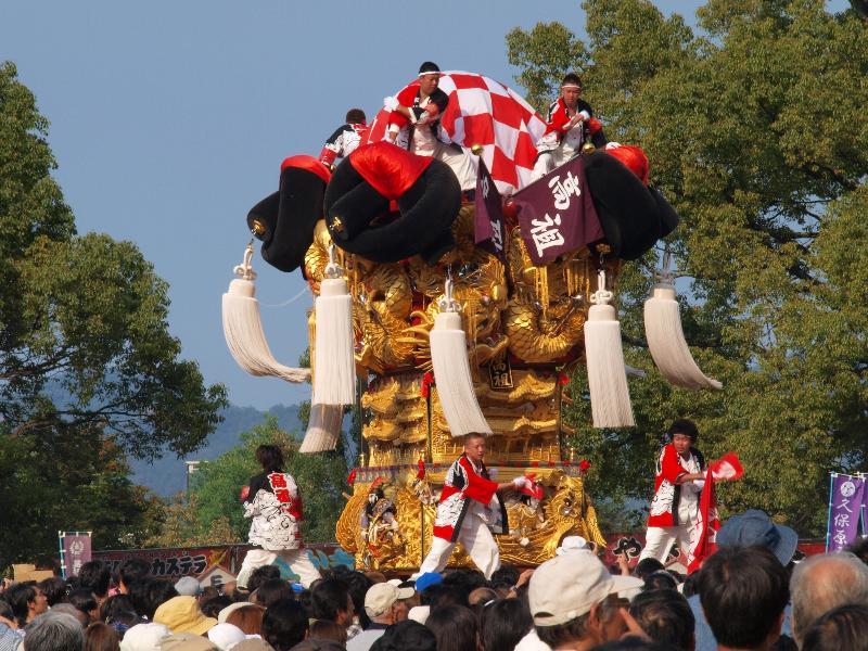 にいはま太鼓祭り 山根公園 船木地区