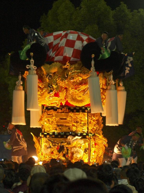 にいはま太鼓祭り 八旗神社 又野太鼓台