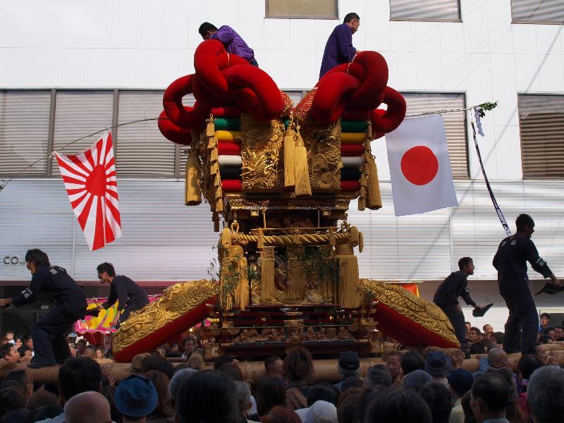 四国中央市 三島秋祭り 第六號 凌雲 金子町