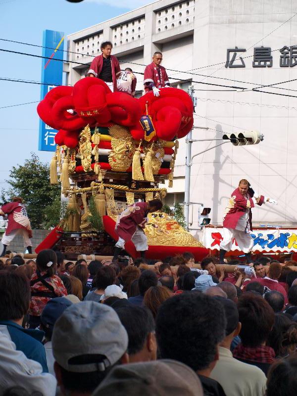 四国中央市 三島祭り 太鼓台統一寄せ