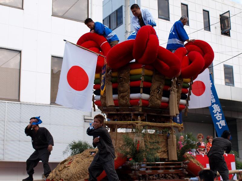 四国中央市 三島秋祭り  統一寄せ