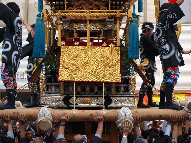 四国中央市 伊予三島秋祭り かきくらべコンテスト