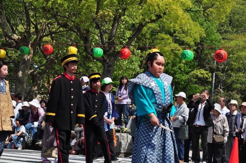 丸亀お城祭り パレード 丸亀時代絵巻