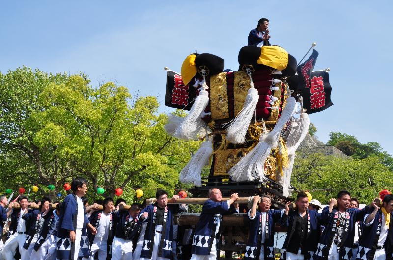 丸亀お城祭り パレード ふるさとの太鼓台