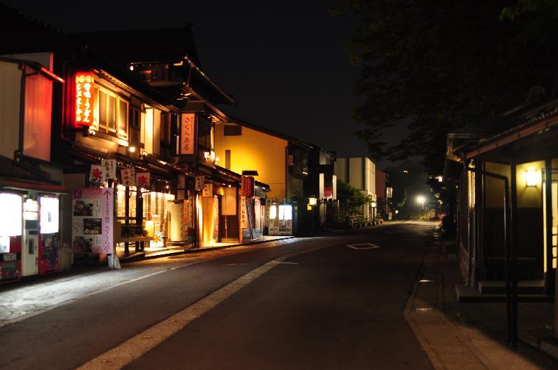 金沢市  兼六園付近 夜景