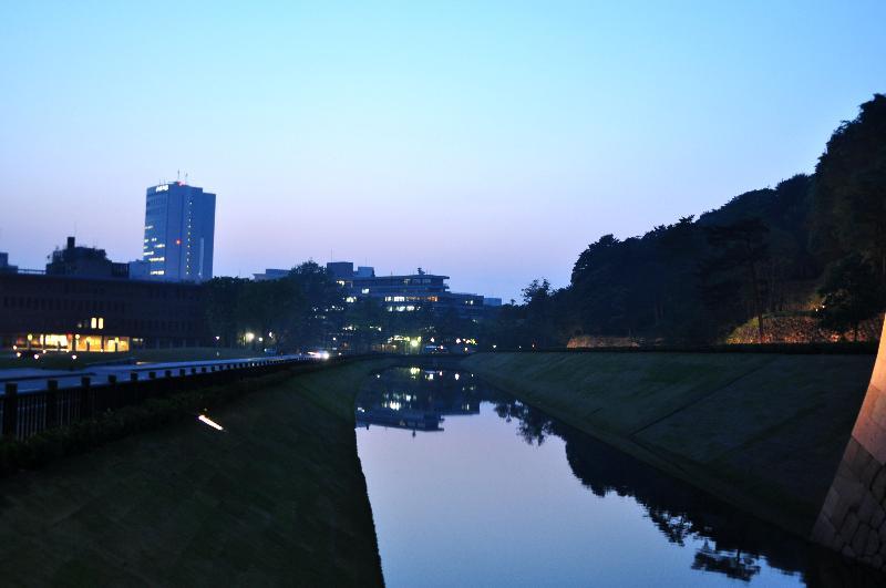 金沢市 広坂北 夜景