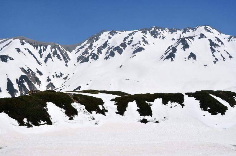 立山黒部アルペンルート 室堂 雪山景色