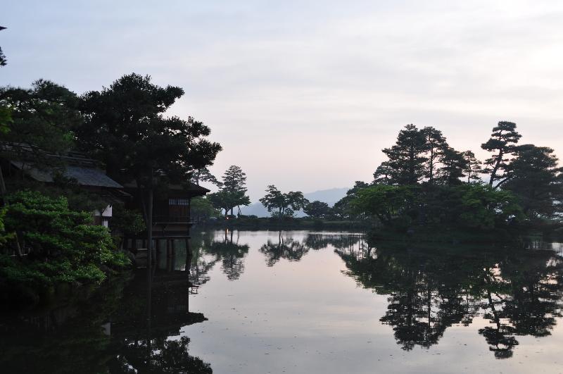 金沢市 兼六園 5月の風景