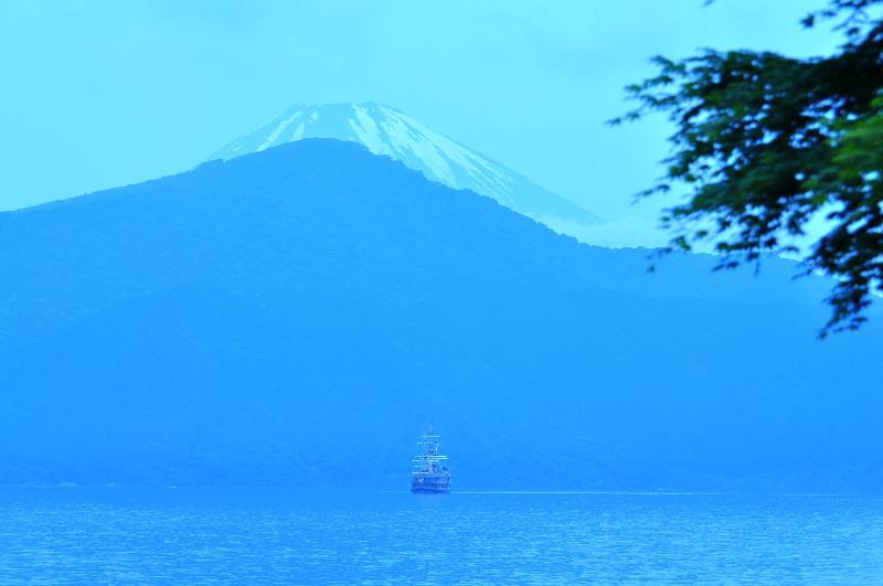芦ノ湖 富士山