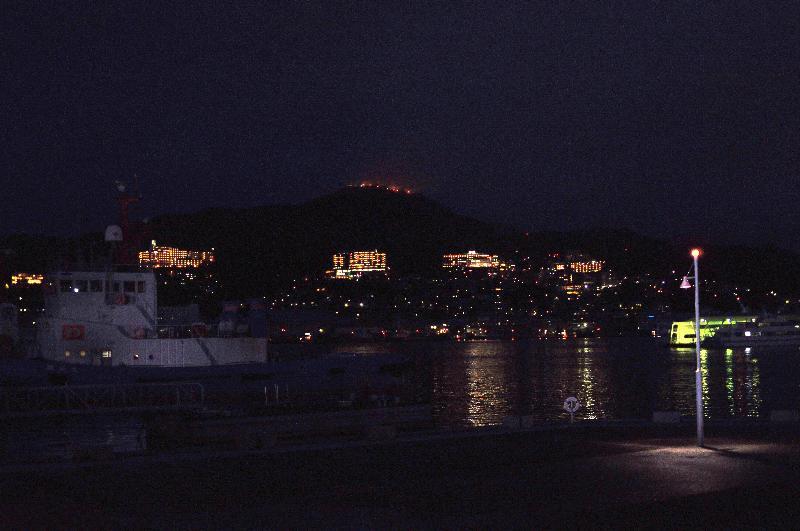 長崎市 出島周辺 夜景