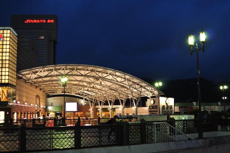 長崎駅前 夜景