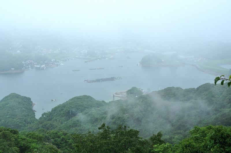 長崎県佐世保市 展海峰 展望台