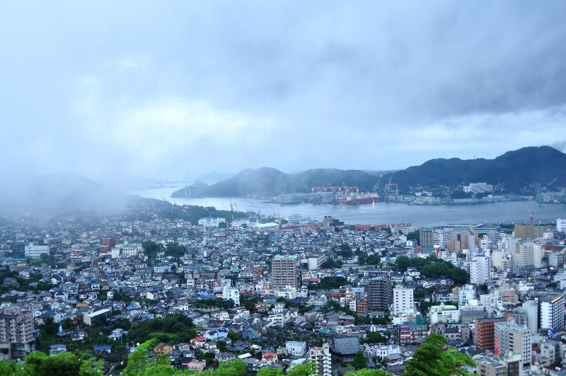 長崎市 矢太楼ホテル 客室から眺めた風景