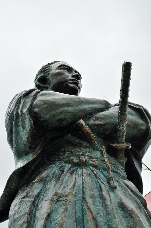 長崎 風頭公園 竜馬像