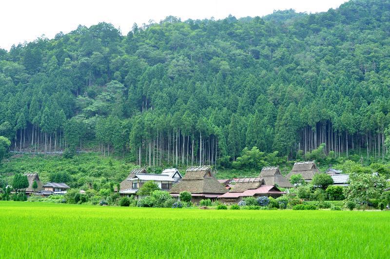 京都府 美山 かやぶきの里北村