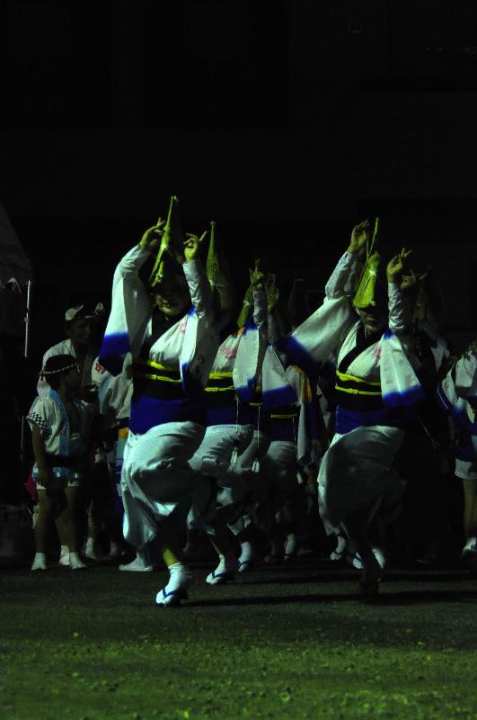 西条市 丹原夏祭り 商店街