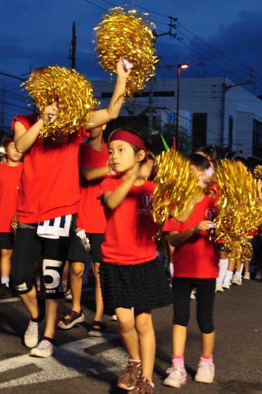 さかいで大橋祭り 総踊り 官庁通り