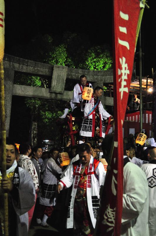 三津厳島神社秋祭り