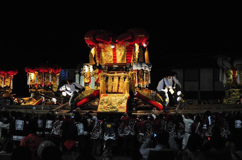 とよなか秋の祭り ゆめタウン三豊 帰来太鼓台