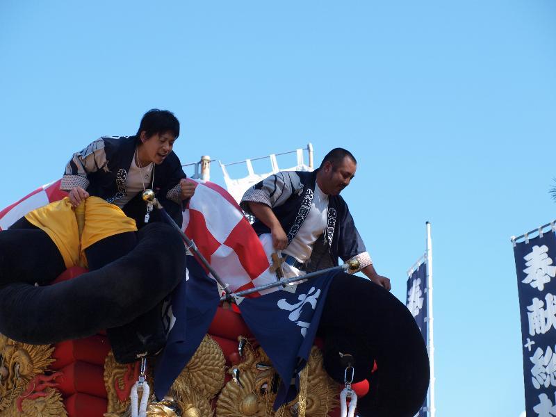 坂出市林田町 総社神社祭礼 北庄司太鼓台
